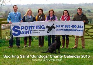 Sporting Saint Calendar Competition for 2015 - 'Gundogs'