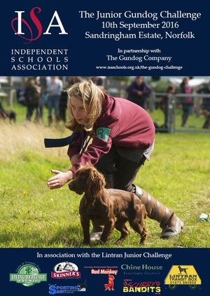 ISA The Junior Gundog Challenge 17th Sep 2016 @ Weston Park