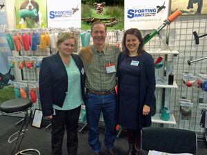 Sporting Saint welcomed Tom Dokken - Dokken Dead Fowl Trainers to our IWA stand.