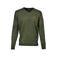V Neck Hunting Sweater