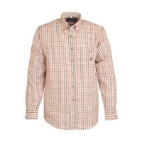 Checked Shirt - Ecru/Pink
