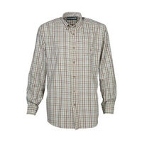 Checked Shirt - Ecru/Blue