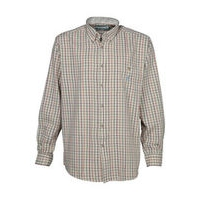 Checked Shirt - Ecru/Pink