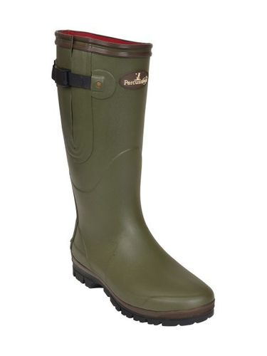 Percussion Neoprene Wellington Boots - Red Lining image #1