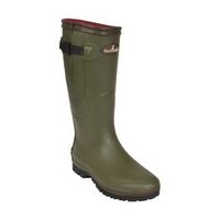 Percussion Neoprene Wellington Boots - Red Lining