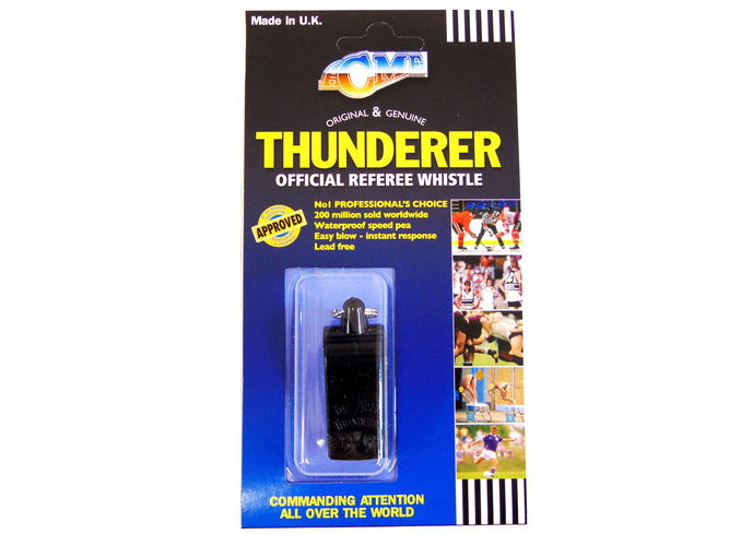 560 Plastic Black Thunderer - Referee type image #2