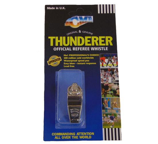 60 1/2 Acme - brass N.P. Thunderer - referee type image #3