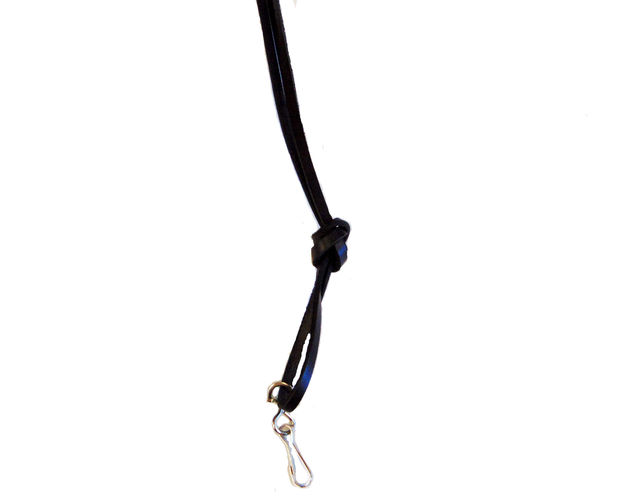 Leather Bootlace lanyard image #2