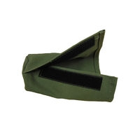 Olive Green coloured canvas sleeve for canvas launcher dummy