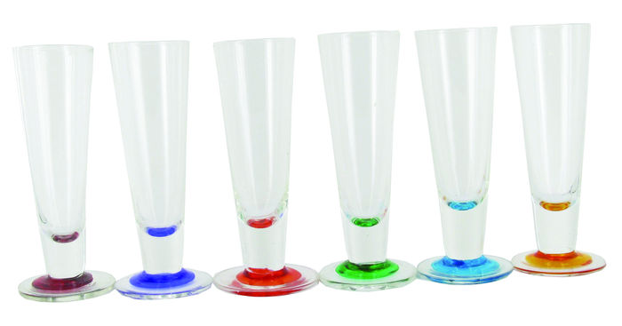 Stemmed Shot Glasses - Set of 6 image #1