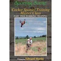 Cocker Spaniel Training Master Class - Part 2 - Working Training