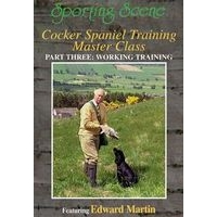 Cocker Spaniel Training Master Class - Part 3 - Field Training
