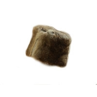 Wild Fur Pillbox Hat
