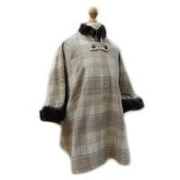 Wild Fur & Tweed Poncho