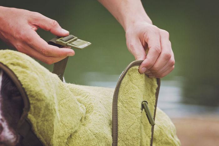 SICCARO Supreme Pro Dog Drying Robe - Olive image #9