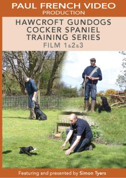 Hawcroft Gundogs Cocker Spaniel Training Series with Simon Tyers - Box Set  image #1
