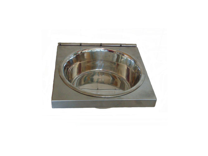 New! Kennel Dog Bowl Holder image #1