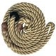 Rope Slip Lead: Natural 10mm