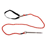 Folding Spike Dog Tether inc Quick Release Slip