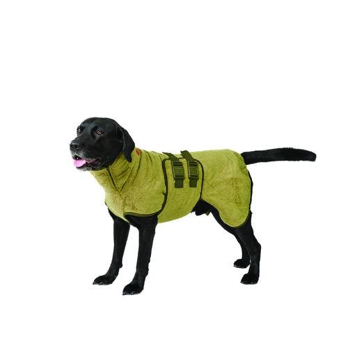 SICCARO Supreme Pro Dog Drying Robe - Olive image #4