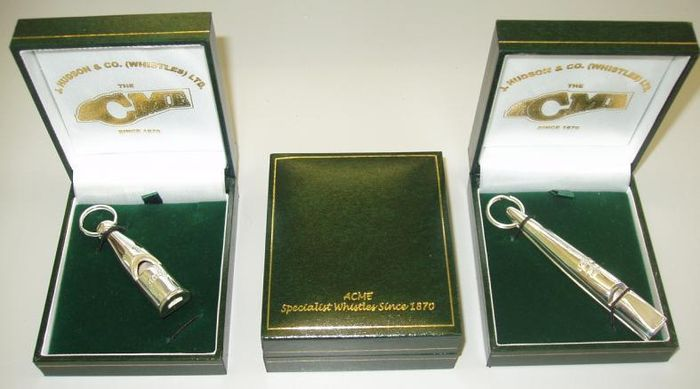 Sterling Silver Whistles image #2