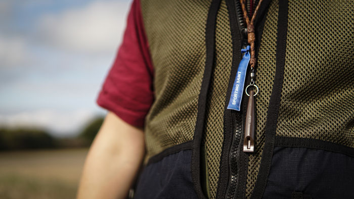 Deluxe Braided Leather Lanyard image #2