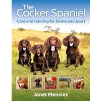 NEW! The Cocker Spaniel by Janet Menzies